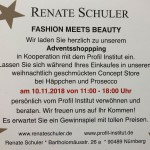 Profil-Institut und Renate Schüler Concept Store Fashion meets Beauty