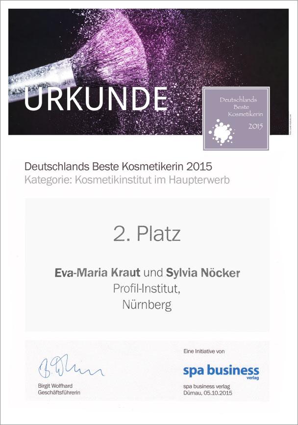 urkunde-profil-institut-platz-2-nuernberg